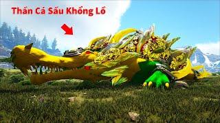 """ARK: Valguero Mod #2 - Mình Đi Farm Nấm Chế Tạo Chuông Taming Được Thần Cá Sấu Khổng Lồ """"Myth-Sarco"""""""