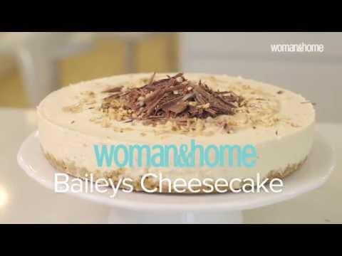 Woman & Home Baileys Cheesecake Recipe