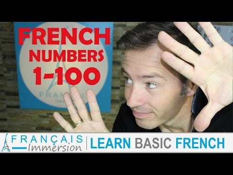 French NUMBERS 1-100 Counting/Chiffres/Nombres + FUN! (Learn French with Funny French Lessons)