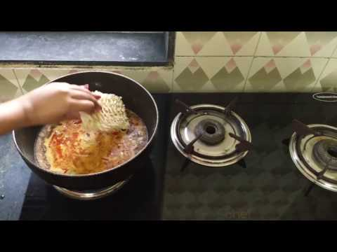 easy simple homemade maggi