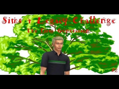 Sims 4 Legacy Challenge #2 - Yes, No, and Yes