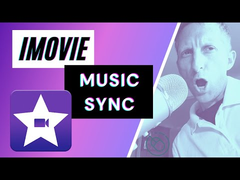 How to use iMovie & Sync Songs to Lip Sync Tutorial