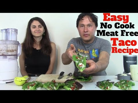 Easy No Cook Meat Free Taco Recipe Fresh from the Garden