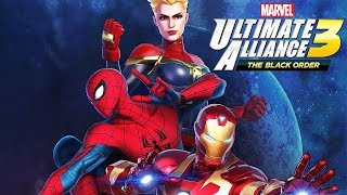 Download MARVEL ULTIMATE ALLIANCE 3 All Cutscenes (Game Movie) 1080p HD Video