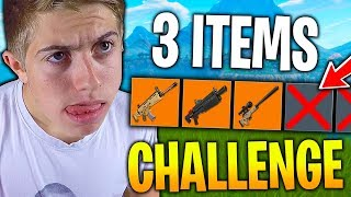 ÉNORME TOP 1 EN 3 ITEMS MAX CHALLENGE SUR FORTNITE AVEC DEUJNA !!!