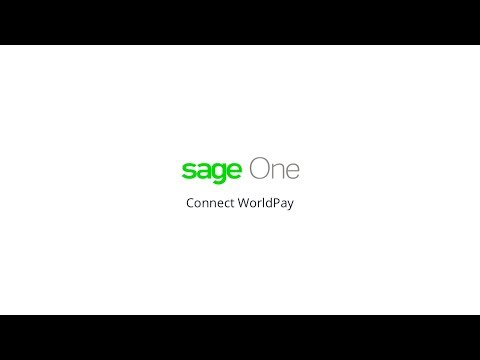 Sage One and WorldPay Integration
