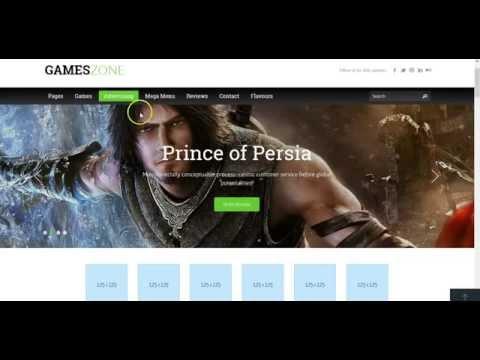 Top Notch Wordpress Gaming Theme Review