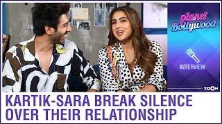 Kartik Aaryan and Sara Ali Khan finally BREAK their silence on their link-up and dating rumours