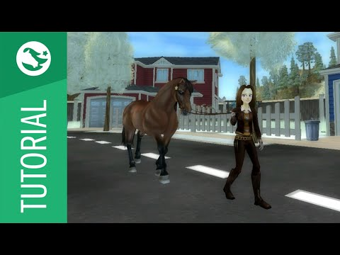 Star Stable Tutorial - Lead Horse