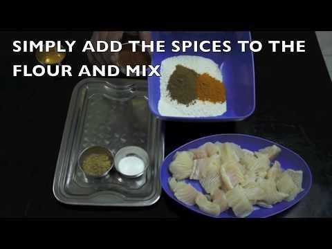 Indian Crispy Fish Fry Recipe - Hindi