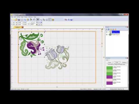 How To Transfer An Embroidery Design From A Computer To An