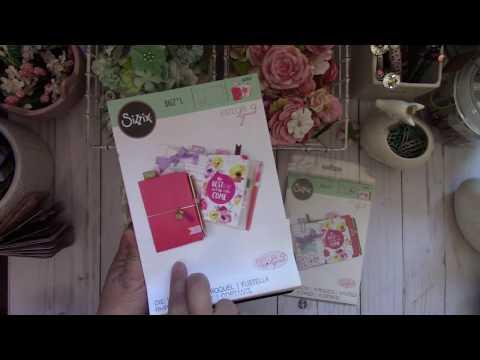 Sizzix Pocket Traveler's Notebook Bigz L Die