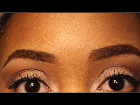 Eyebrow Routine for Curly Brows | VT