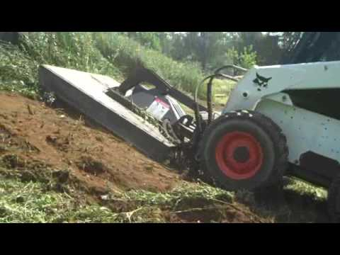 Brush Clearing w/ Bobcat; Chris Orser Landscaping