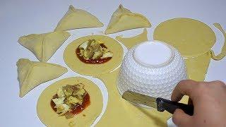 فطائر سهلة بدون فرن وفي الفرن بمكونات بسيطة جدا روعة
