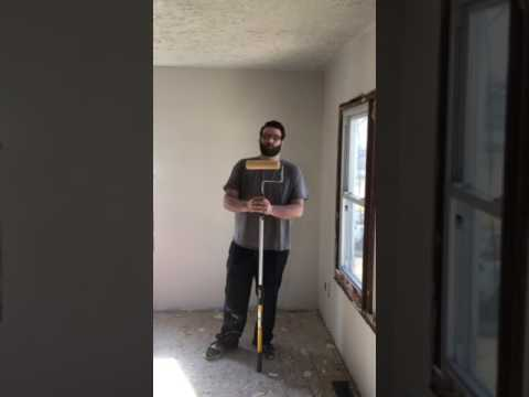 How to remove drywall texture