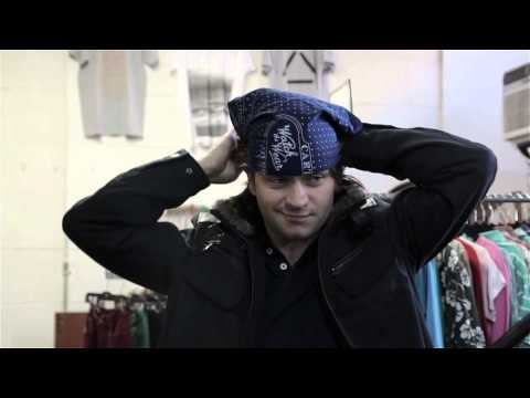 How to Fold a Bandana Into a Hat : Men's Fashion
