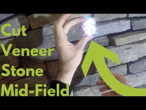 How to Size and  Cut Small Mid-Field Veneer Stones
