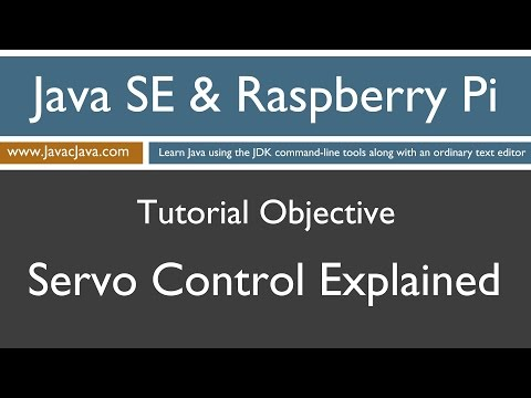 Java and Raspberry Pi Programming - Servo Control Explained