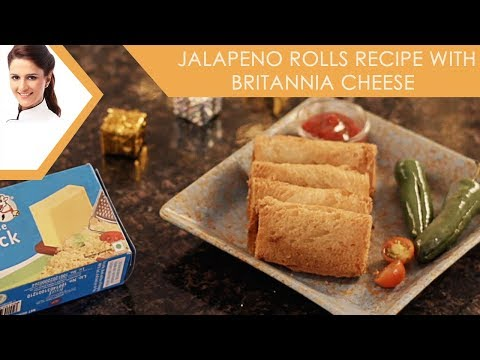 Jalapeno Rolls Recipe with Britannia Cheese
