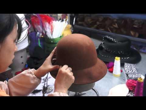 How to make wool felt hat