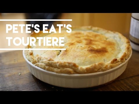 Easy Tourtiere Recipe - Meat Pie