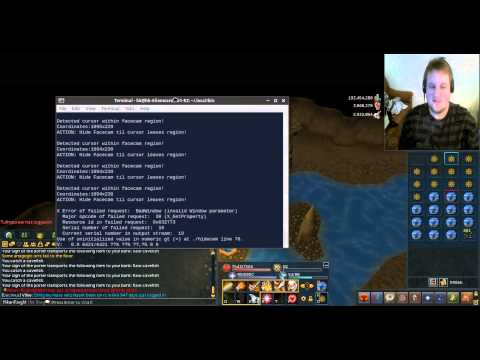 Facecam solution for Linux users in RuneScape!