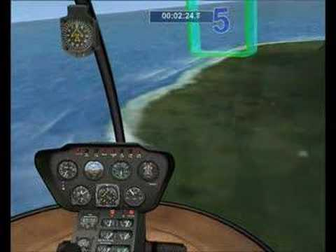FSX mission: Tutorial 11 - Helicopter maneuvers 1