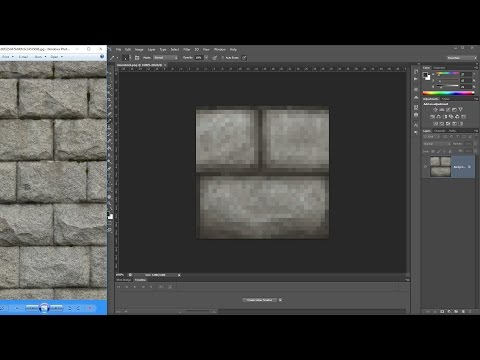 ALAN BECKER - Painting Minecraft Textures
