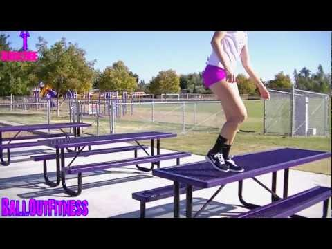 Female Athlete - How To Jump Higher - Bodybuilding Female - Volleyball Athlete