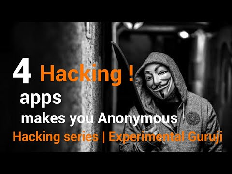 4 hacking apps makes you Anonymous