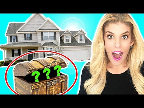 Finding a Hidden Mystery TREASURE BOX in my HOUSE not at 3AM!