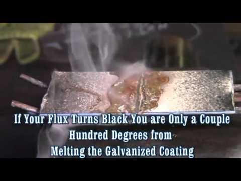 Cómo soldar acero galvanizado