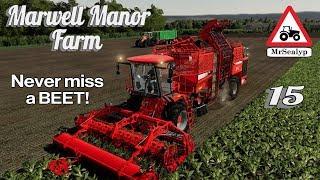 Marwell Manor Farm, #14, PS4, Farming Simulator 19, 15 Tonne Silage