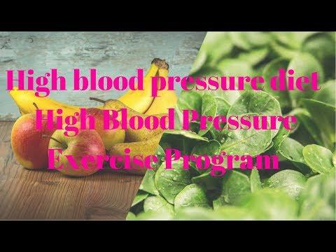 High blood pressure diet - High Blood Pressure Exercise Program - Blue Heron Health News