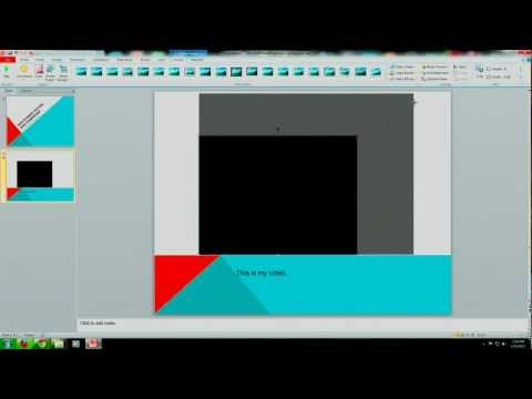 Computer Trix - 2 - Embed Video in PowerPoint 2007-2013