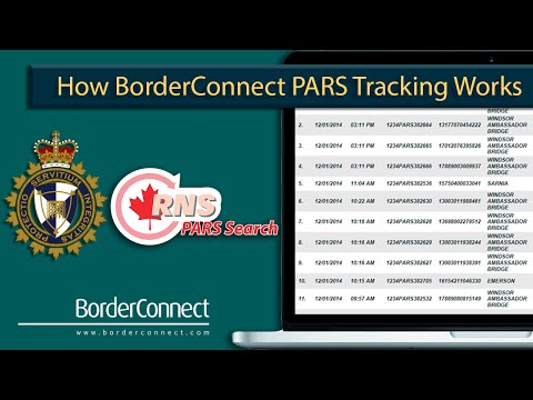 How BorderConnect PARS Works