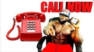 CALL NOW...!! TALK WITH KALI MUSCLE (LIVESTREAM)