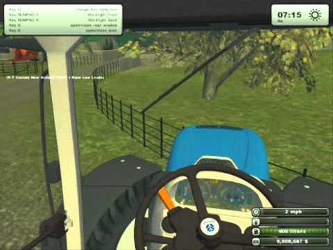 Farming Simulator 2013 Transporting Abbey Manure Spreader