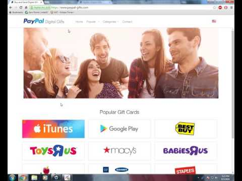 How to Get an iTunes Gift Card Through PayPal