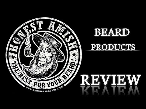 Honest Amish Beard Products Review