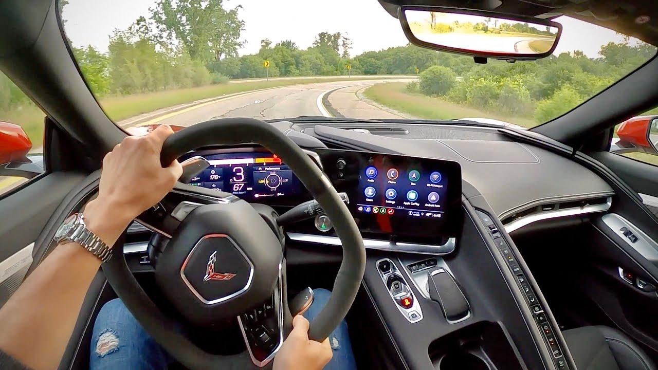 2021 Chevrolet C8 Corvette Z51 Performance Package - POV First Impressions