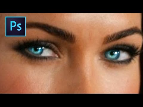 Photoshop Tutorial: Changing Eye Color (Easy)
