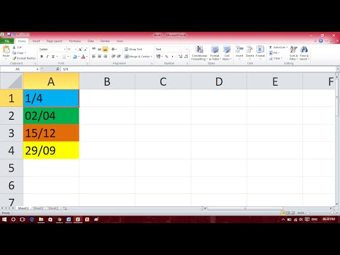Stop Numbers Converting to Dates - Excel