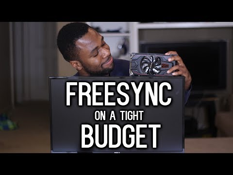 Does AMD Freesync matter on $100 Video Cards? (AMD RX 560 Test)
