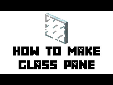 Minecraft Survival: How to Make Glass Pane