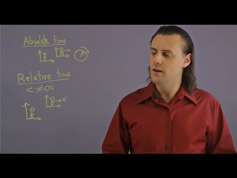 Describe the Concepts of Relative and Absolute Time