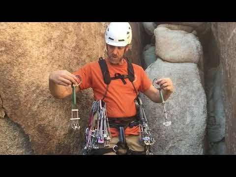 How to Organize Your Rack for Trad Climbing
