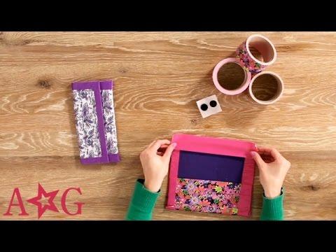 DIY Duct Tape School Supplies Case | Craft Studio | American Girl