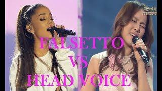 Falsetto VS Head Voice (Bb5-F#6)